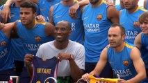 Barça - Kobe Bryant offre son maillot aux Blaugrana
