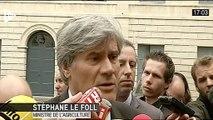 """""""Je suis là pour être auprès des éleveurs, le Gouvernement est mobilisé pour essayer de trouver des solutions"""""""