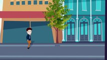 Adobe Illustrator | Adobe After Effects - 2D Animation Walk Cycle Sample (Puppet Tool 3)