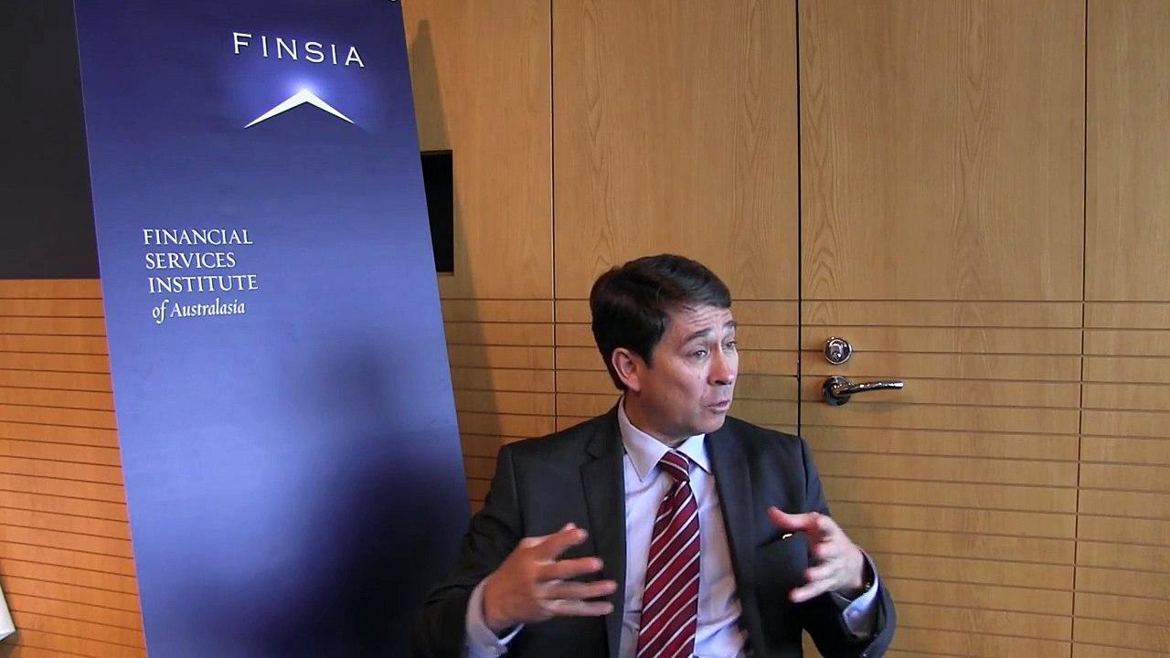 Tony Cripps, CEO, HSBC Bank Australia at Finsia event June 2013