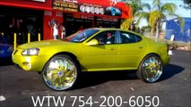 "AceWhips.NET- WTW Customs- T2's WORLD's FIRST Pontiac Grand Prix GTP on 30"" DAVIN TWSTD Floaters"