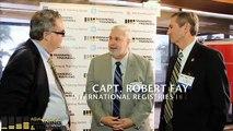 Capt Robert Fay (International Registries Inc) and Capt Mike Murphy (American Maritime Officers)