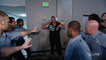 Brock Lesnar and The Undertaker Out Of Control (backstage) - WWE Raw, Wrestling July 20, 2015