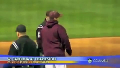 College of Charleston Baseball Epic Ejection….AGAIN!