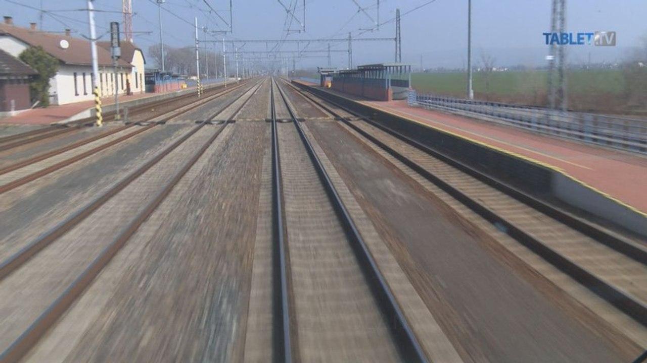 UNIKÁTNY VLAKOVÝ VIDEOPROJEKT: Dnes pribúda nová trať Trnava - Trenčín