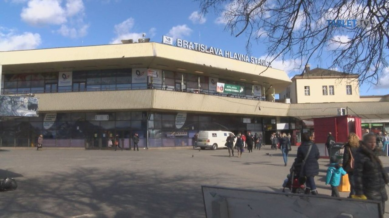 VLAKOVÝ VIDEOEXPERIMENT: Bratislava, Hlavná stanica