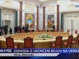DOHODA O UKONCENI BOJOV NA UKRAJINE 12.2.2015