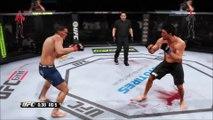 ᴴᴰ Anthony Pettis vs. Gilbert Melendez Knockout _ EA SPORTS™ UFC® (1080p)