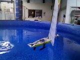 Megatech Nirvana II - Performance RC Sailboat - video