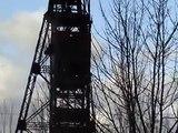 Chute du Dernier Chevalement des MDPA à Amélie le 09.12.2009 / Alsace / Haut Rhin 68