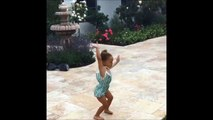 Adorable Dancing of NBA star Stephen Curry's Daughter — Cute Video