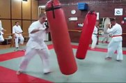 Kyokushin is all about training hard!
