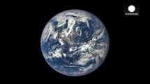 أول صورة كاملة للارض بجودة عالية جداً