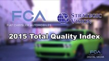 FCA US Tops the 2015 Total Quality Index