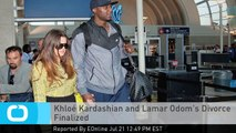 Khloé Kardashian and Lamar Odom's Divorce Finalized