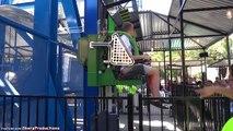 Lex Luthor: Drop of Doom (On-Ride) Six Flags Magic Mountain