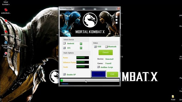 Best New Mortal Kombat X Gone Mobile - HACK - SOULS KOINS