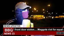 LONDON RIOTS 2011: Looter interviewed in the street