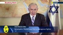 Ariel Sharon dies aged 85 in hospital: Israeli PM Benjamin Netanyahu pays tribute to Ariel Sharon