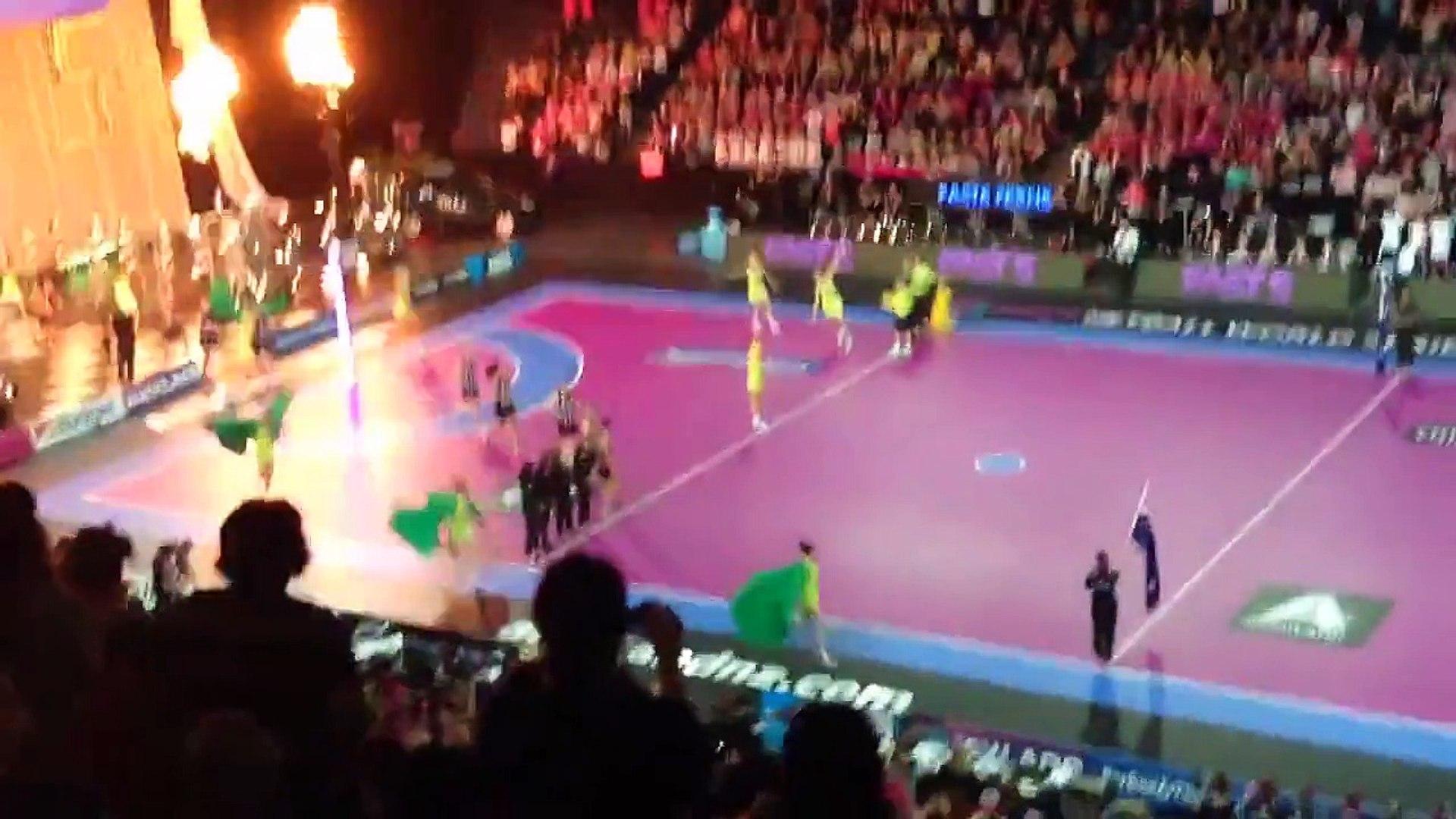 Fast 5 Netball 2013 Grand Final New Zealand Vs Australia National Anthems