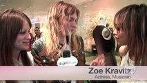 Zoe Kravitz & Rachel Bilson Talk Style Icons