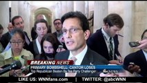 Eric Cantor Loses Primary in Shocking Upset