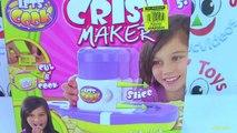Let's Cook Crisp Maker Toy Make Your Delicious Potato Crisps