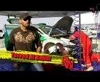 Yazeed Al-Rajhi in race & wheels - Qatar Rally 2009