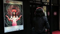 Conchita Wurst at the Crazy Horse for Parrot Zik 2.0