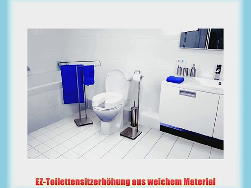 Vitility EZ Toilettensitzerh?hung weich L?40?cm x B?35?cm x H?5?cm