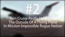 Mission Impossible 5 - Tom Cruise réalise une cascade sur un avion au péril de sa vie