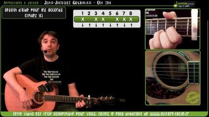 Apprendre à jouer On ira de Jean-Jacques Goldman - Tuto Guitare