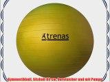 Gymnastikball Sitzball 85 cm berstsicher und mit Pumpe