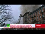 East Village Explosion: Building collapses, people injured
