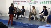La raccolta differenziata a Genova. Festa Democratica del PD, 5 sett 2012