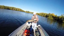 GoPro - Big Pike & Smallmouth Fishing - Fall Fishing - BWCA Ely Minnesota