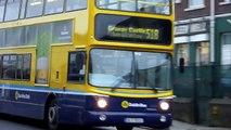 Trams & Buses in Dublin ダブリンのトラム(路面電車)とバス
