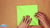 Easy origami dragon