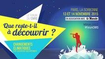 Le Forum du CNRS 2015 (teaser)