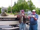Pêcher la truite grise au lac témiscouata et lac massawippi