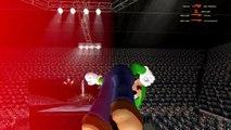 Gmod Sandbox Funny Moments - Banana Bus Dance, Boxing Arena