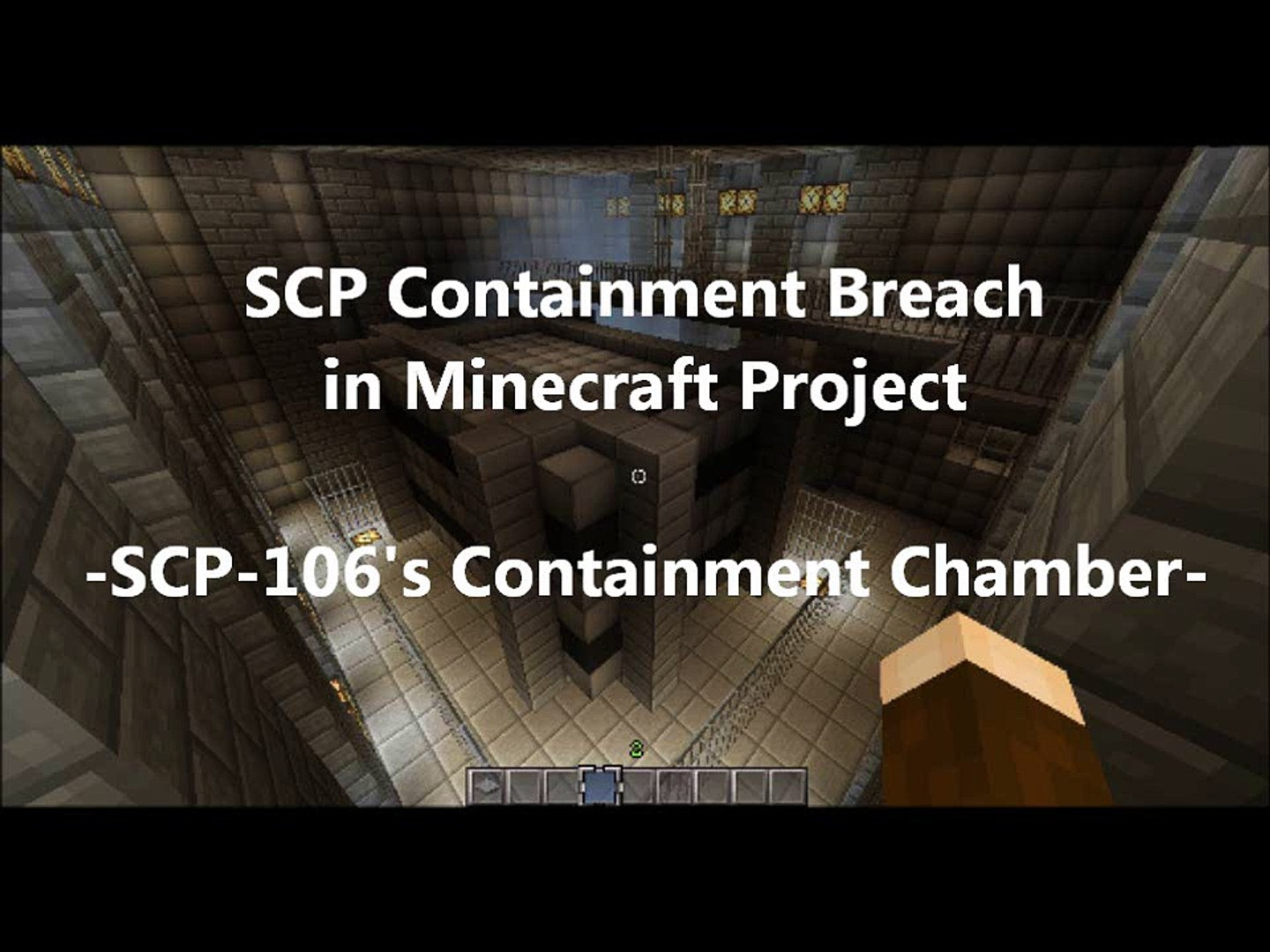 SCP Containment Breach In Minecraft - SCP 106's Containment Chamber