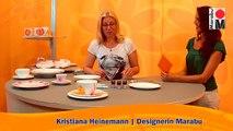 Marabu Anleitungsvideo | Porzellan bemalen mit Marabu Porcelain & Porcelain Painter