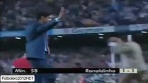 El primer golazo de Ronaldinho con el Barça * First amazing goal by Ronaldinho with Barcelona