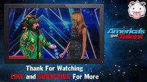 America's Got Talent 2015 ♥ Piff the Magic Dragon: Heidi Klum Helps Comedic Magician in Dragon Suit