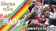 Clowntestation, augustes pacifistes - Tracks ARTE