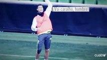 Cristiano Ronaldo se fâche pour un but annulé et quitte l'entraìnement du Real Madrid