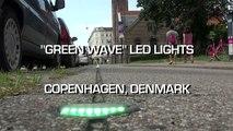 Streetfilms Snippets - Green Wave LED Lights (Copenhagen, Denmark)