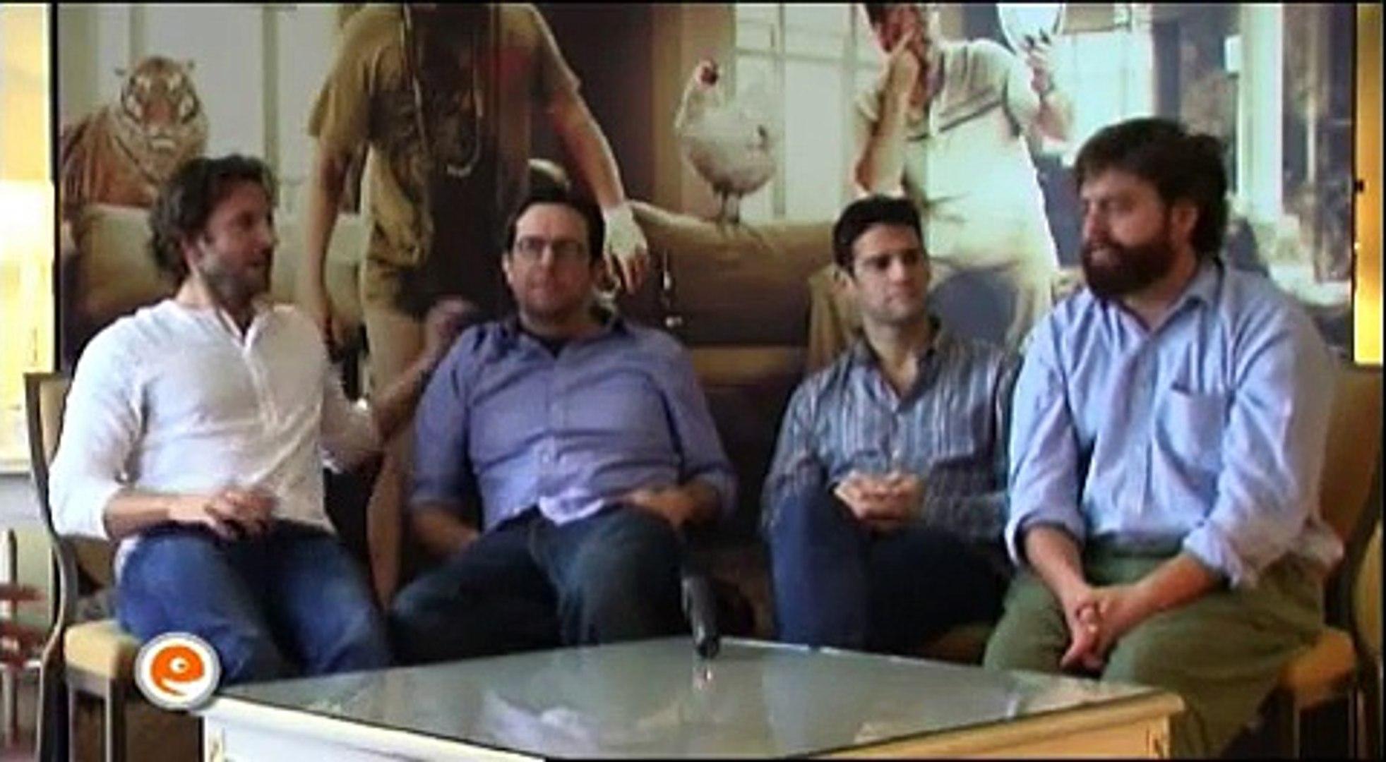 THE HANGOVER - Bradley Cooper, Ed Helms, Zach Galifianakis, Justin Bartha