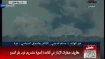 القصف المدفعي العنيف على شرق قطاع غزة - صور تلفزيون الأقصى